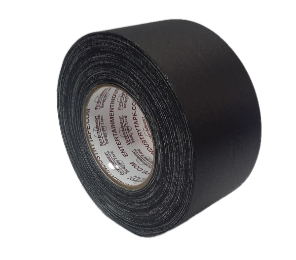 Entertainment Industry Tape Black Gaffers